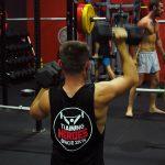 shoulder presses